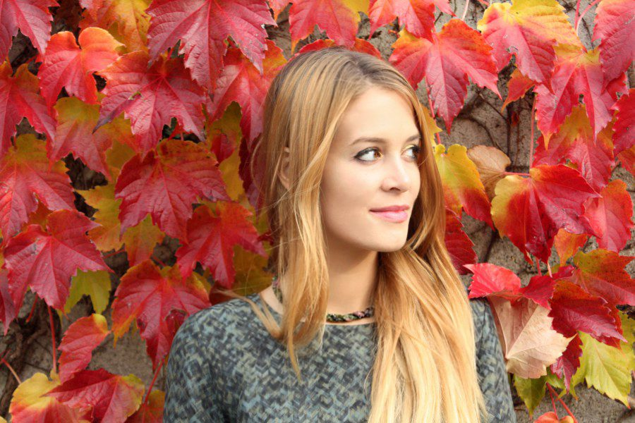 Red wall leaves girl
